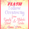Flash Follow Giveaway ~ It's Coming June 27th!