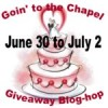 Going to the Chapel Giveaway Blog Hop ~ Coming Soon!