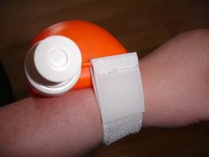 wrist water bottle
