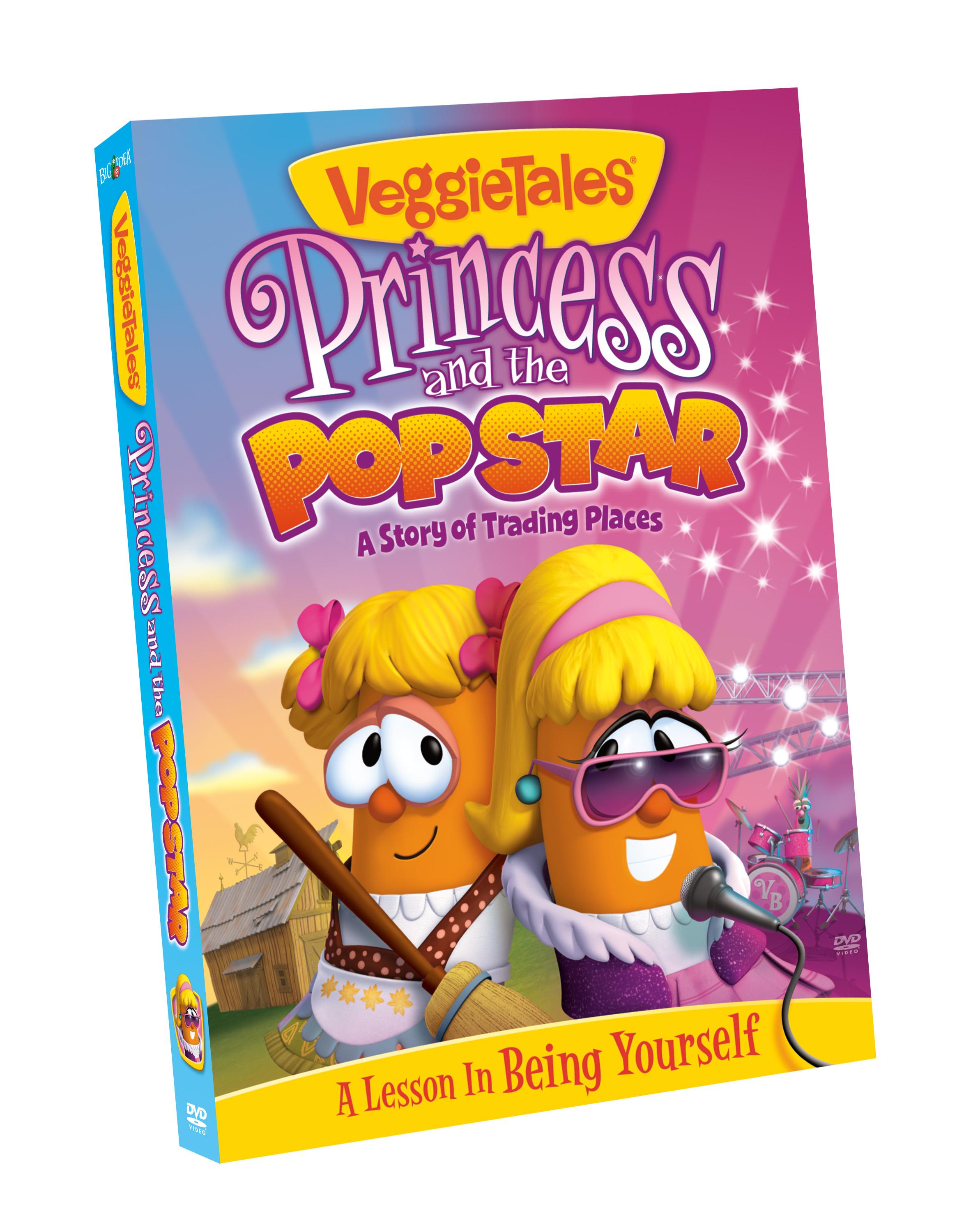 veggietales princess and popstar box art