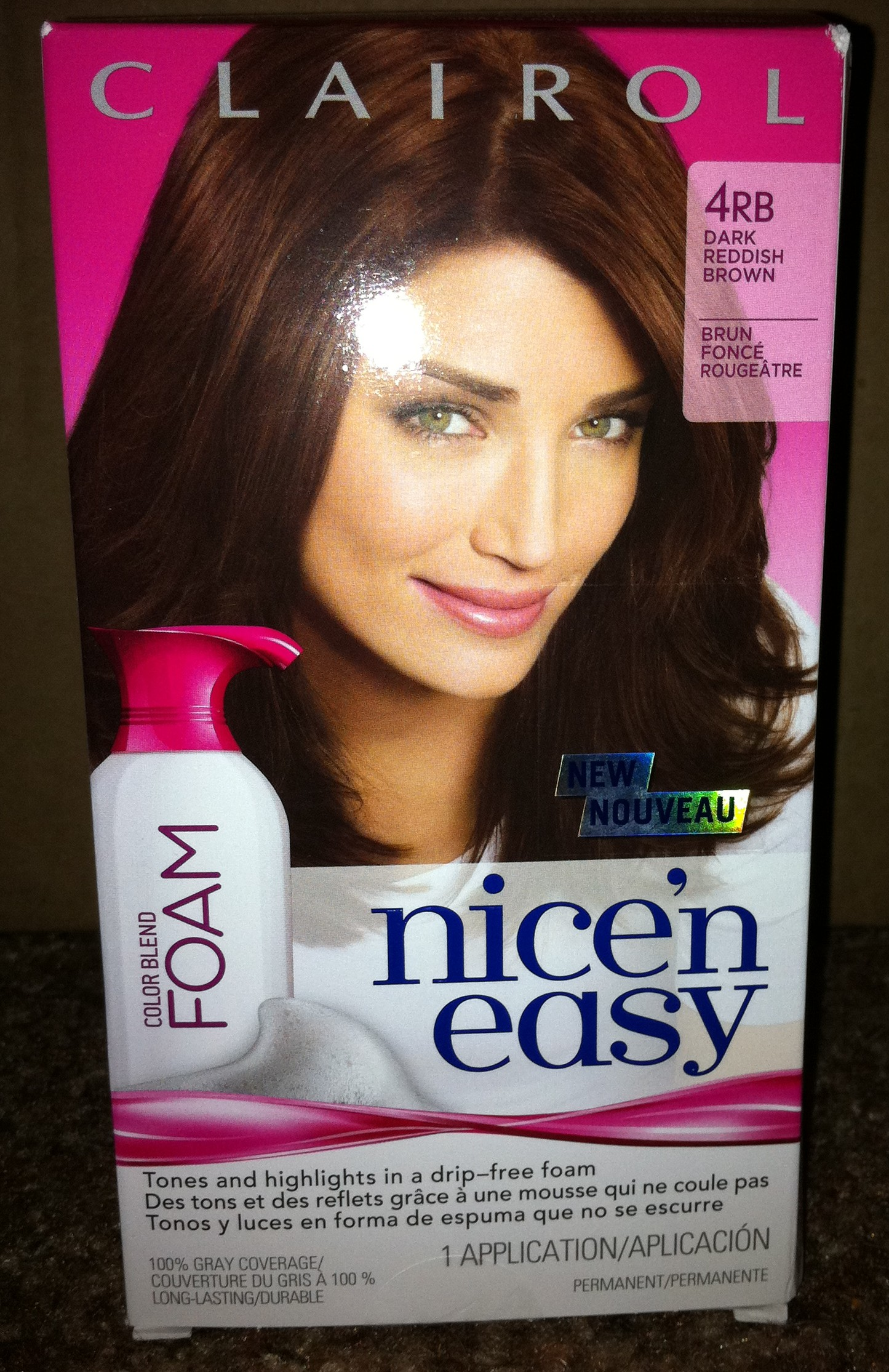 clairol nice n easy foam hair dye