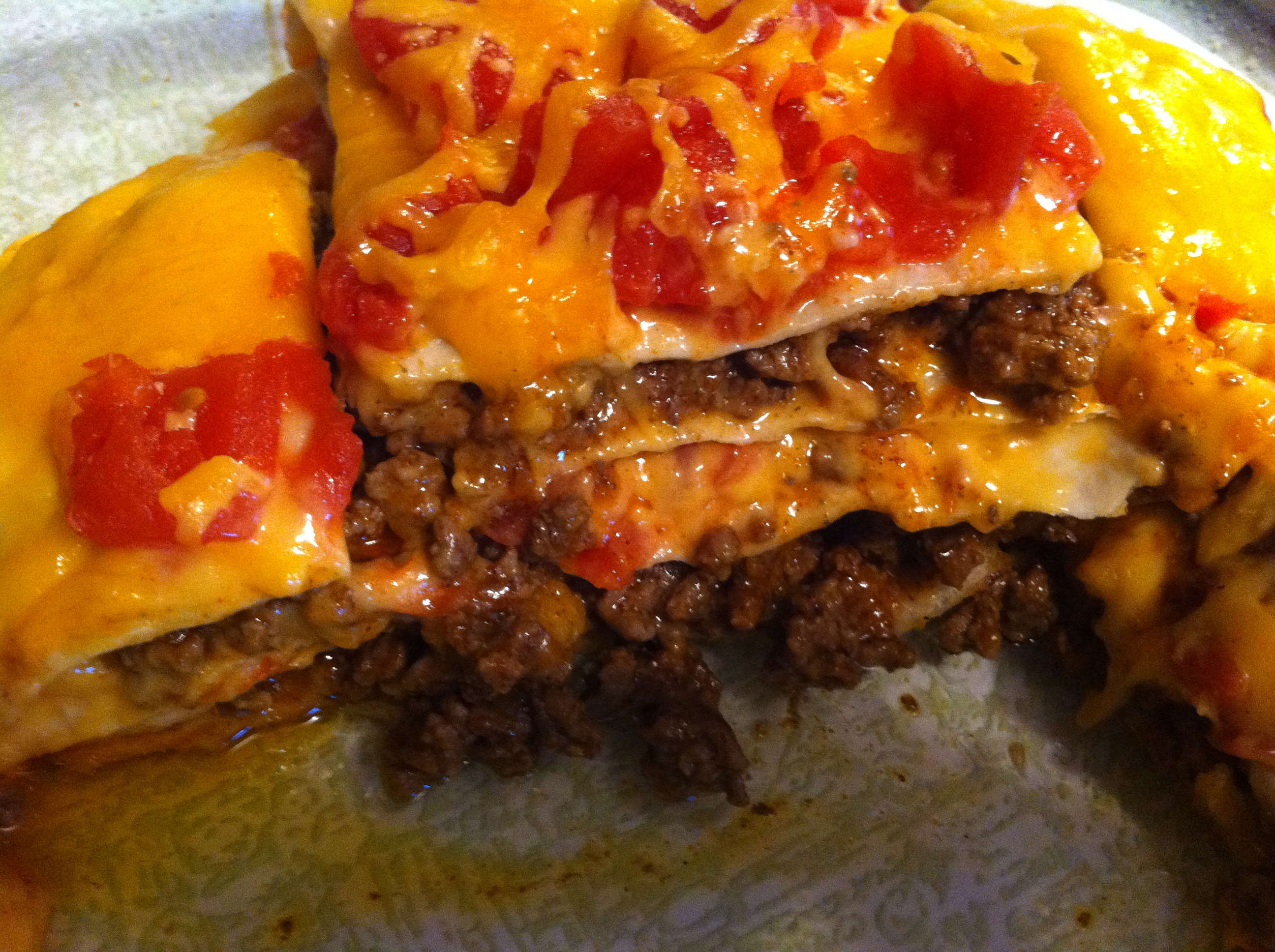 Quick & Easy Dinner: Layered Taco Bake Recipe » Tales From the ...
