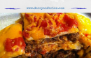 Get dinner on the table fast with this Quick and Easy Layered Taco Bake Recipe! It's a tasty twist on tacos and reheats well for leftovers.