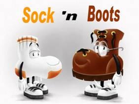 sock n boots