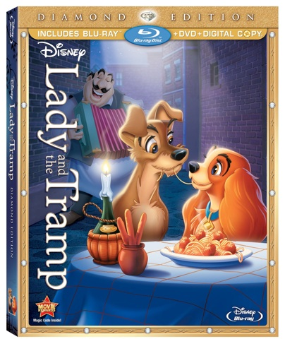lady and the tramp box art