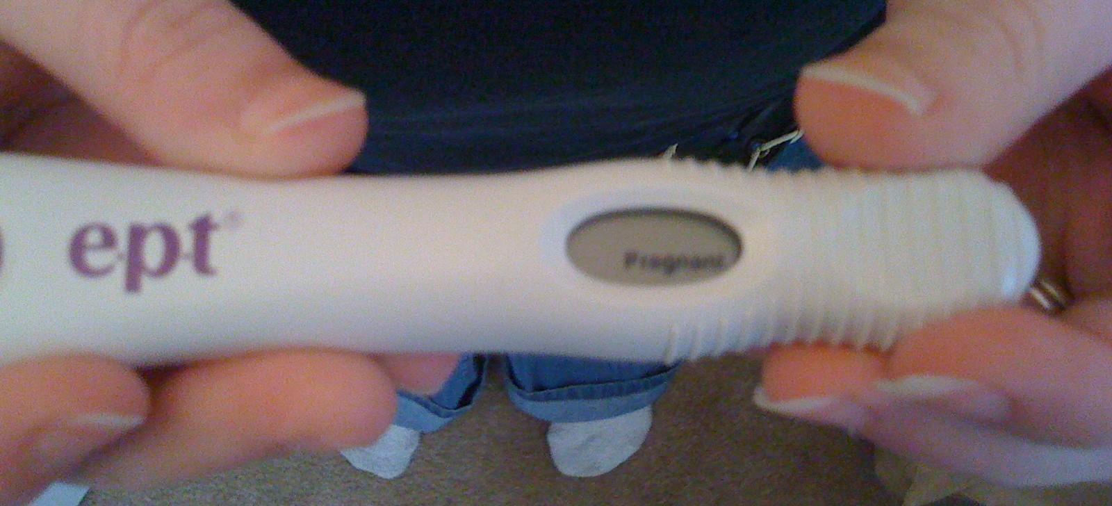 3/7/10 E.P.T. Digital Pregnancy Test is POSITIVE!