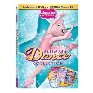 Angelina Ballerina Ultimate Dance Collection DVD
