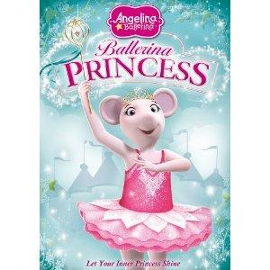 angelina ballerina ballerina princess dvd
