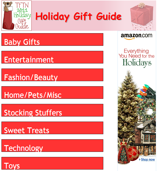 2011 holiday gift guide