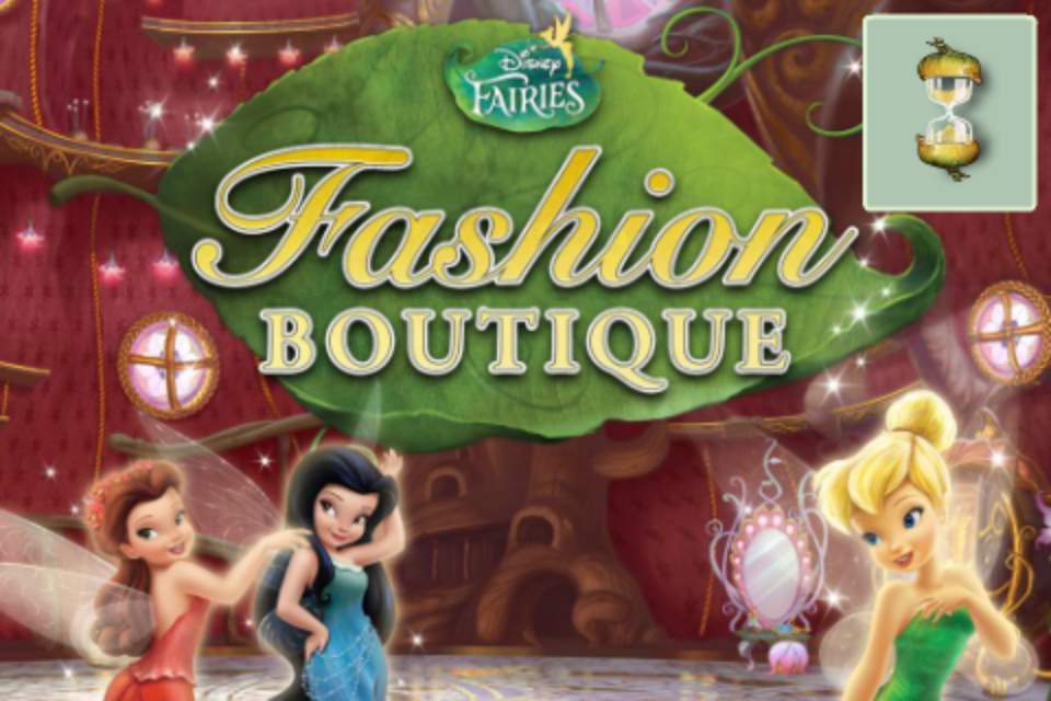 disney fairies fashion boutique