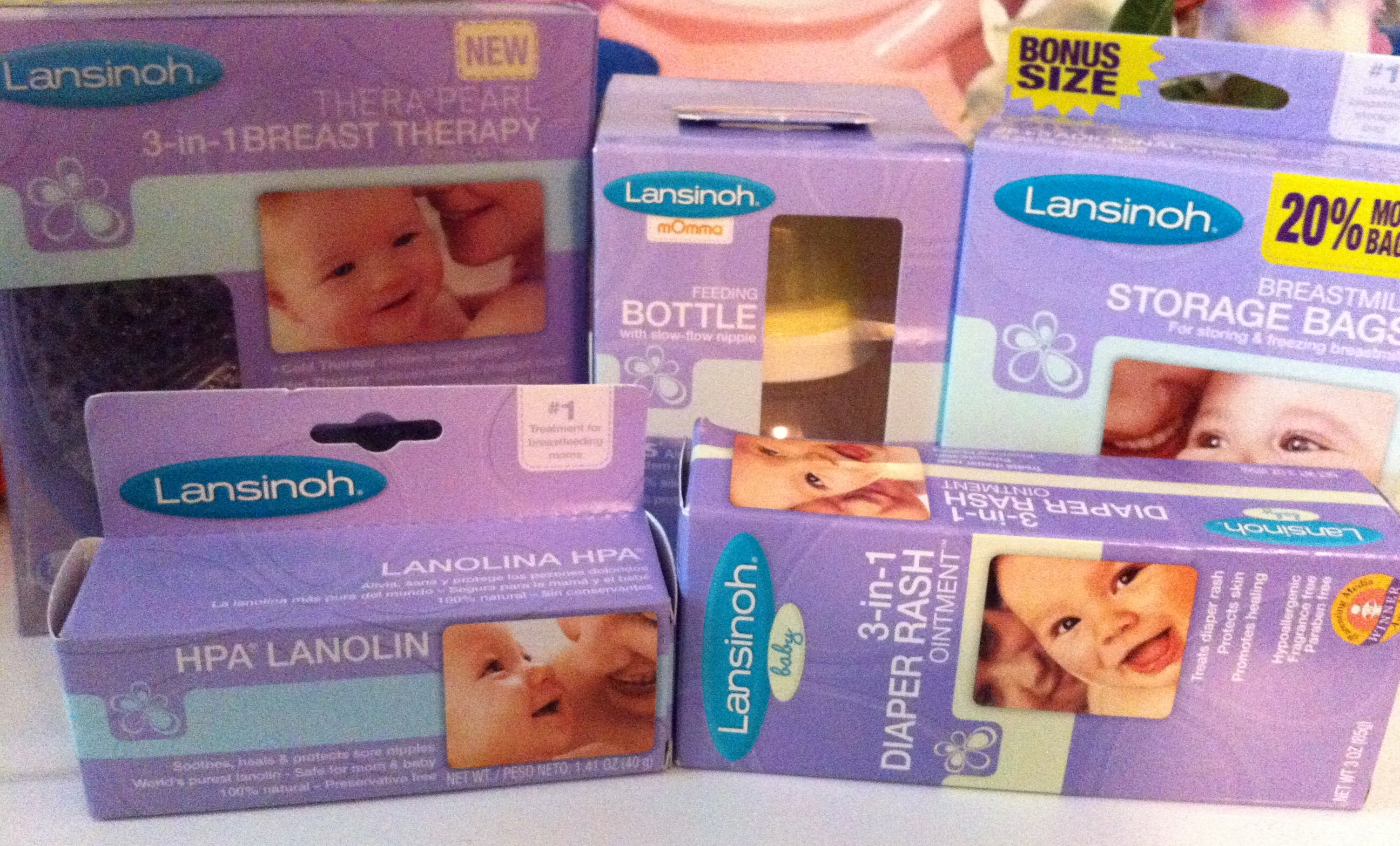 lansinoh breastfeeding products