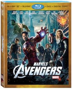 avengers bd pack