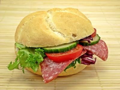 salami sandwich-fdp