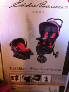 Baby Travel Gear: Eddie Bauer Trail Hiker 3 Wheel Travel System Review