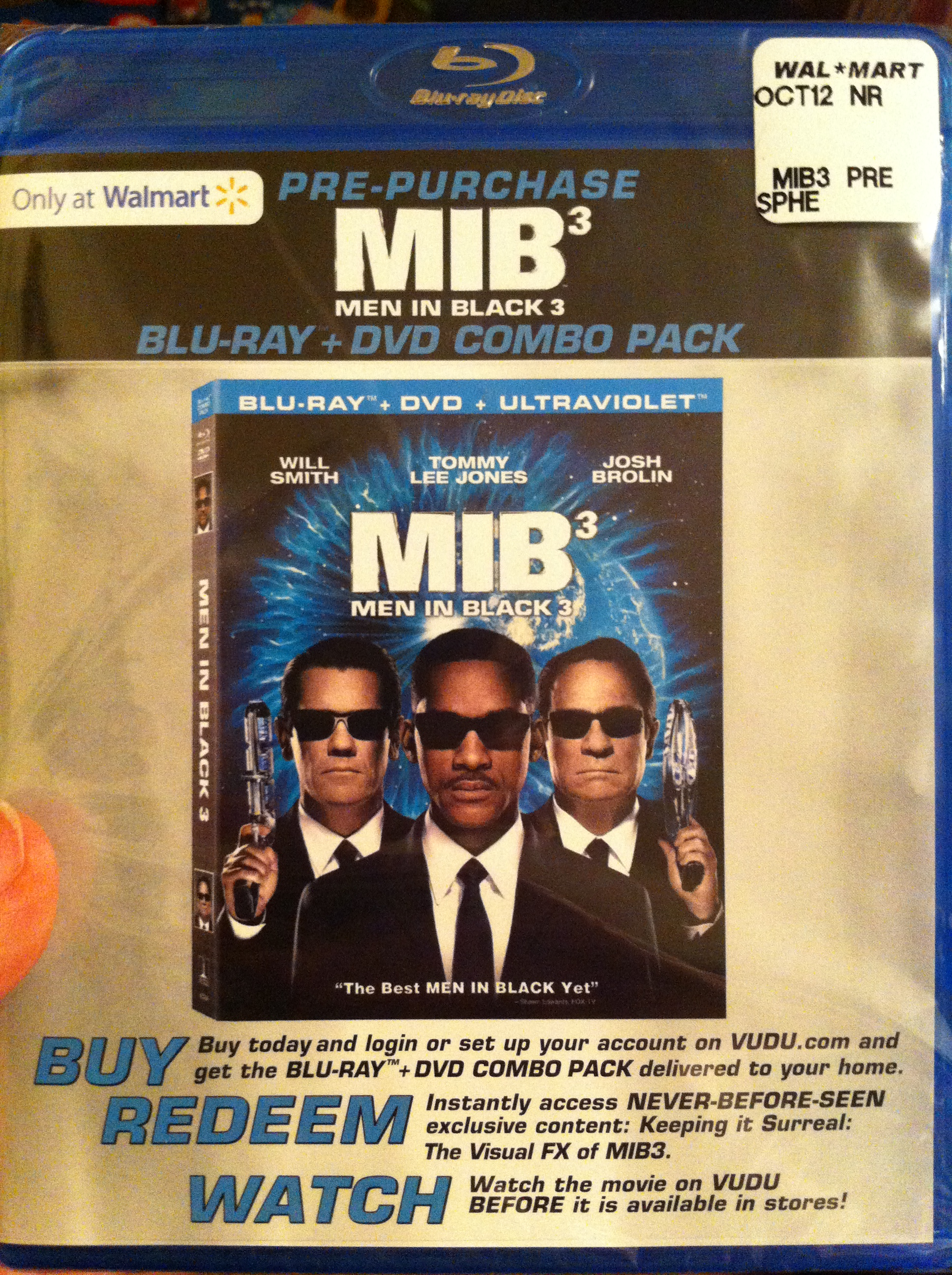 men in black 3 pre-order box