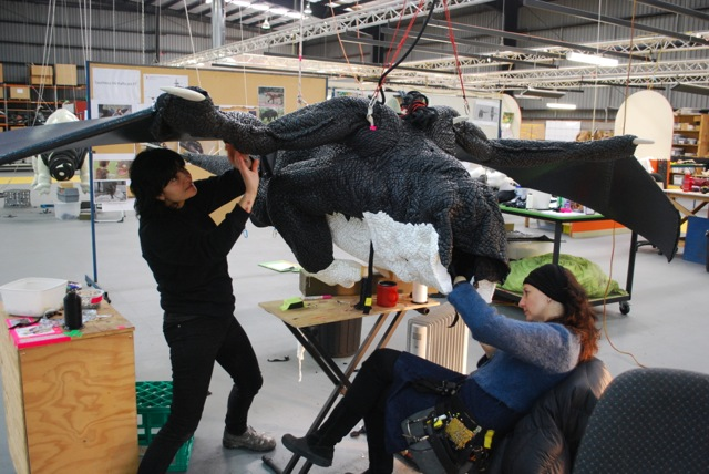 Making of the dragons 5 - Flying Toothless