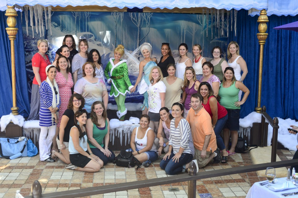 tinker bell and periwinkle group picture