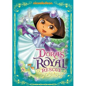dora royal rescue dvd