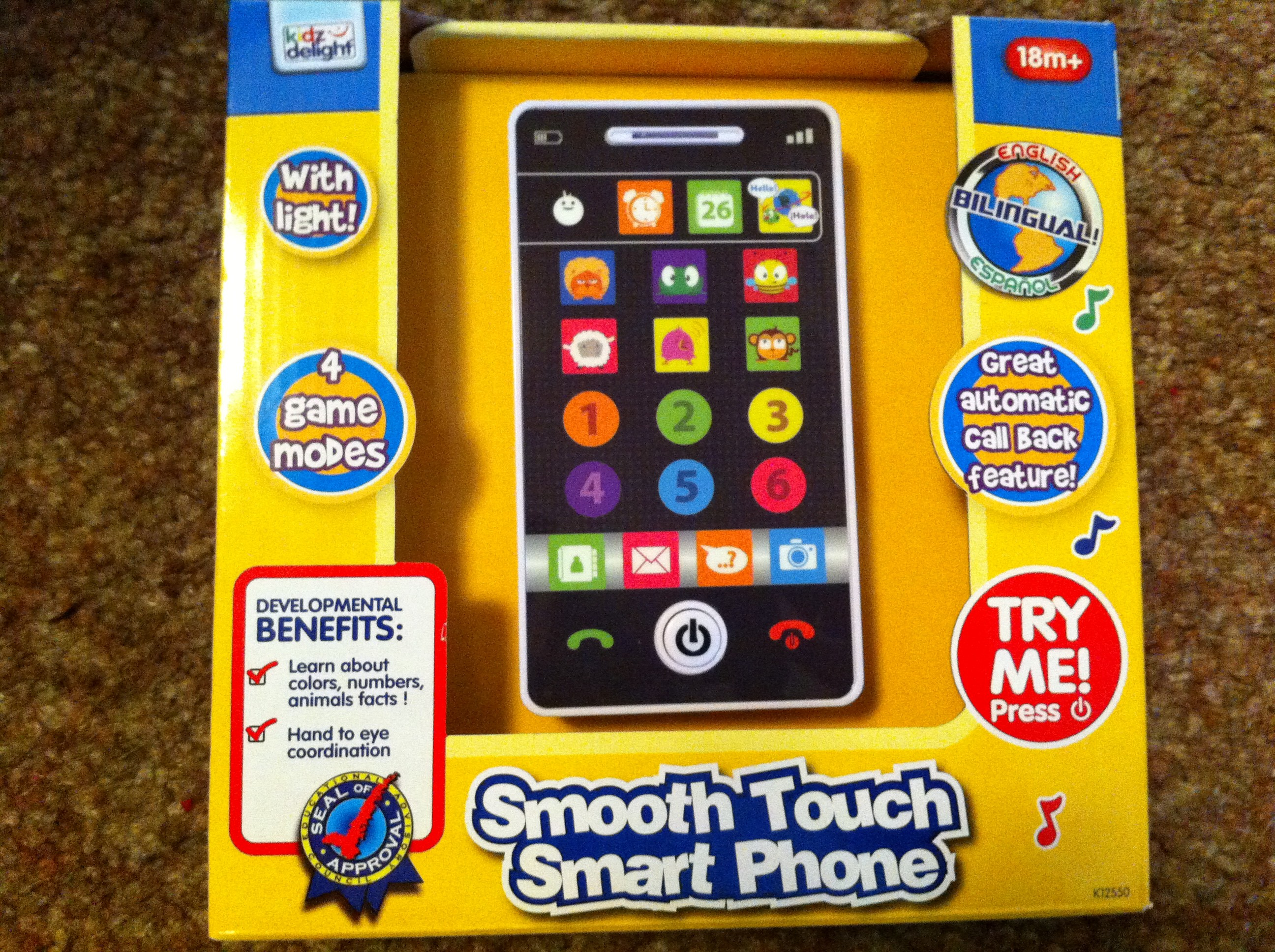 toy smart phone