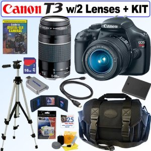 canon rebel t3 kit