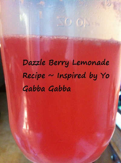 dazzle berry lemonade
