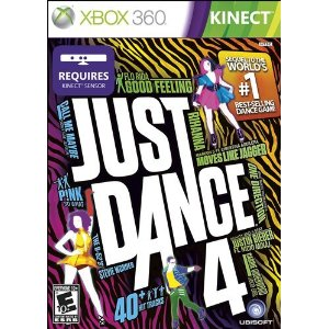 just dance 4 box