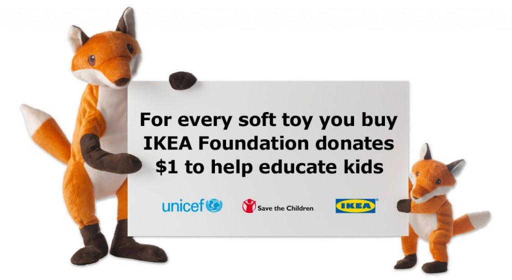 ikea soft toy donation