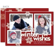 tiny prints winter wishes