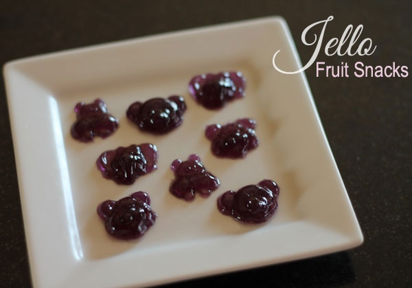 jello fruit snacks