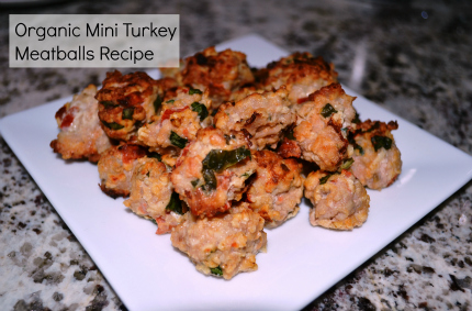 Organic Turkey Meatballs Kid Friendly Recipe