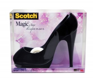 high heel shoe tape dispenser