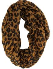 Payless Leopard Infinity scarf, $14.99