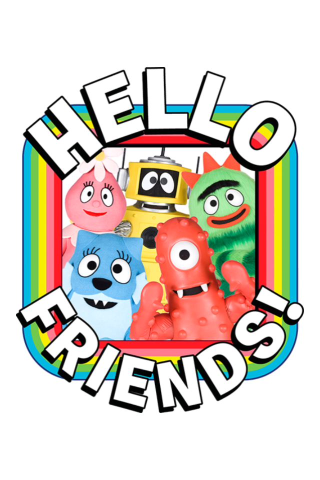 yo gabba gabba hello friends app