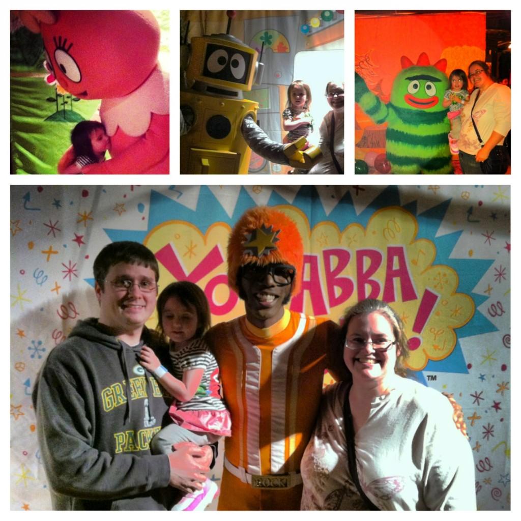yo gabba gabba meet and greet