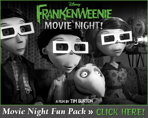 frankenweenie movie night