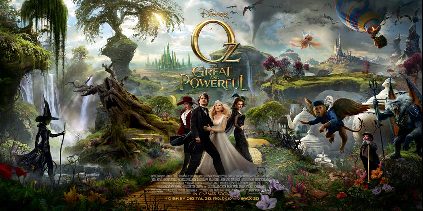 oz great and powerful full poster