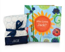 personalized book giftset