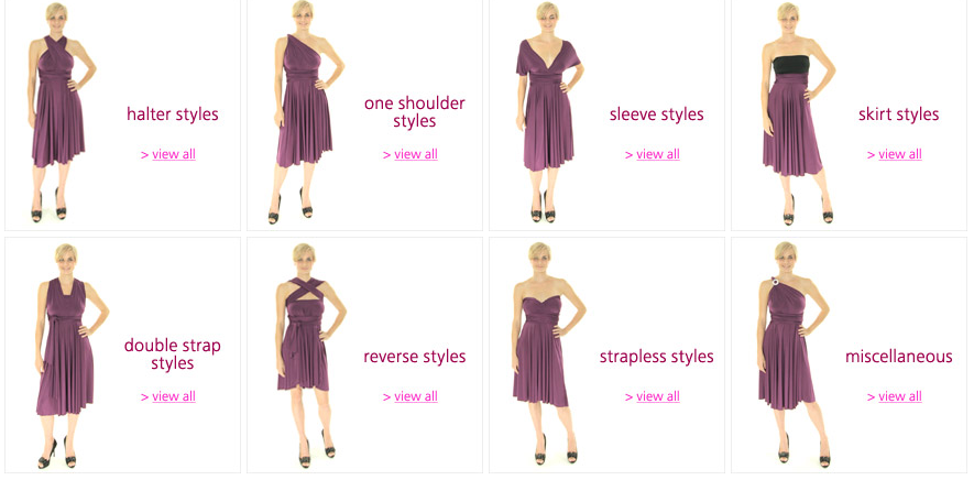 Henkaa Convertible Dress Offers Multiple Styles With One Dress
