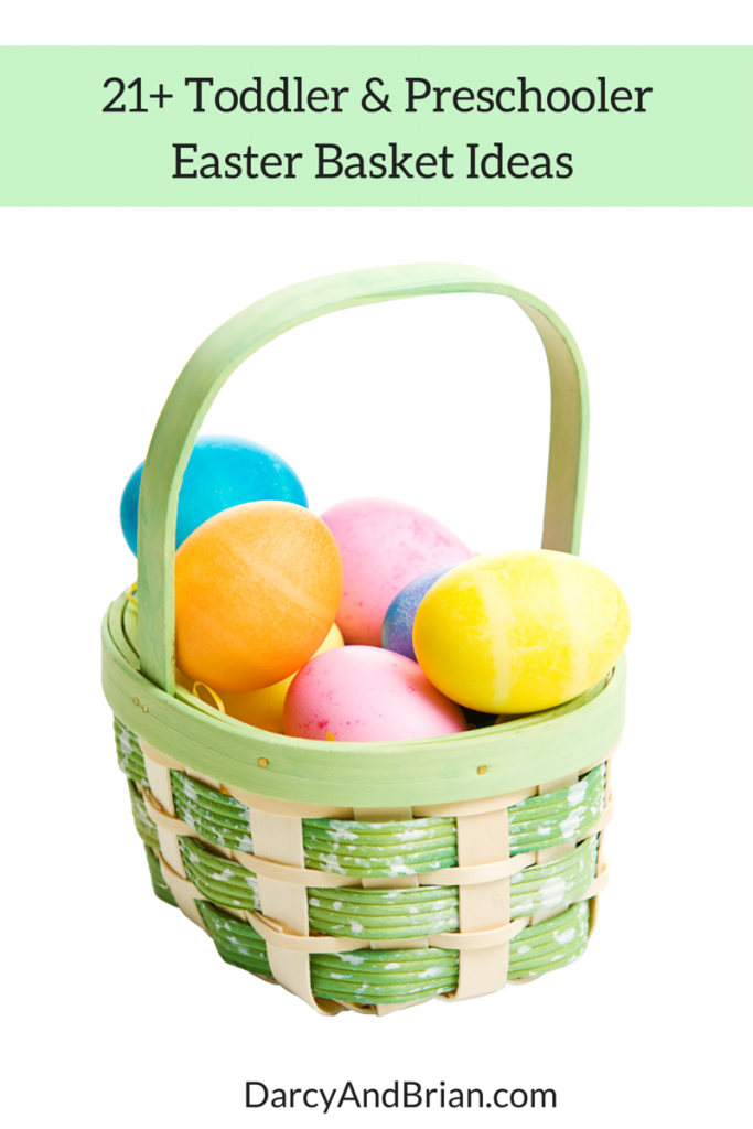 Surprise and delight the kids with a mix of indoor and outdoor toys for Easter. Check out our Easter basket gift ideas for toddlers and preschoolers!