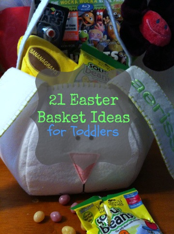 21 Easter Basket Ideas for Toddlers and Preschoolers (without all the sugar!)