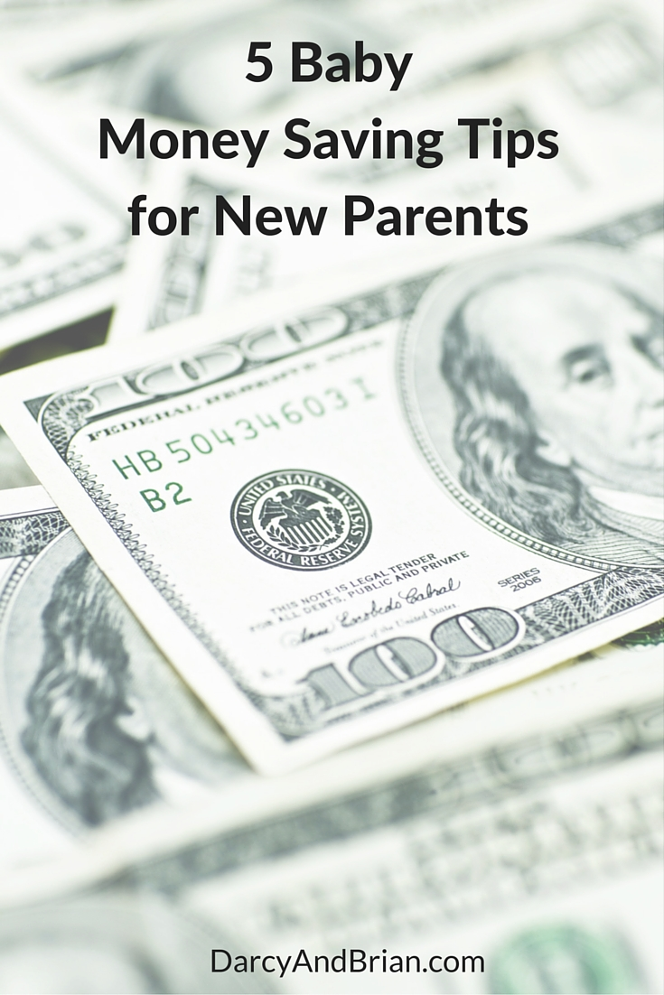 5 tips on how to save money when expecting a new baby.