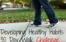 healthy habit daily walks