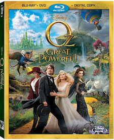 oz great and powerful bluray