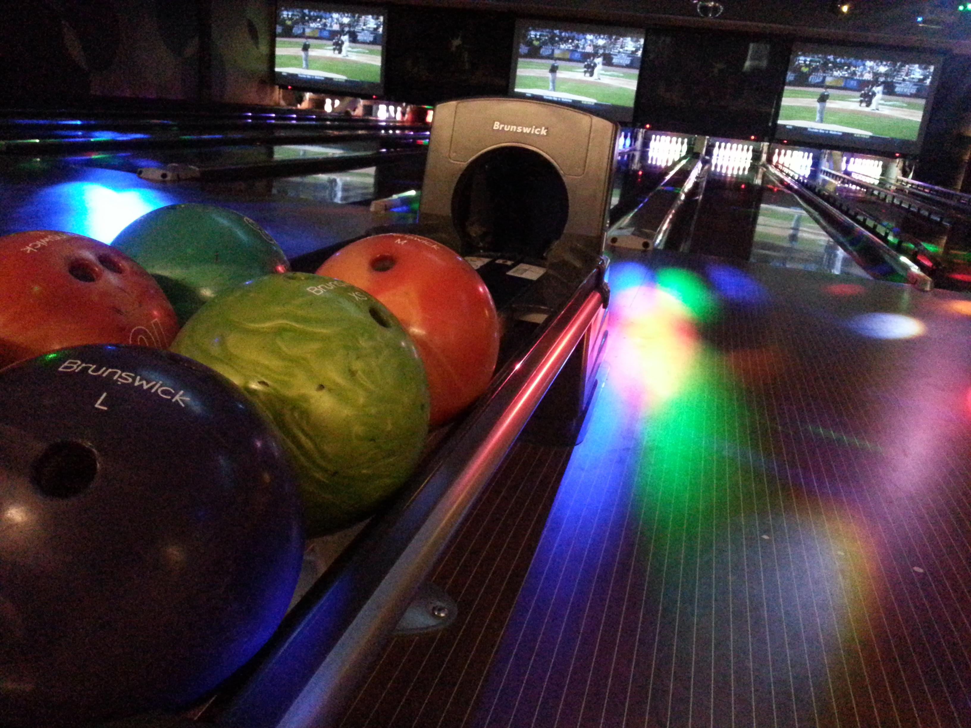 bowling balls at jbs