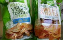 two bags of veggie chips