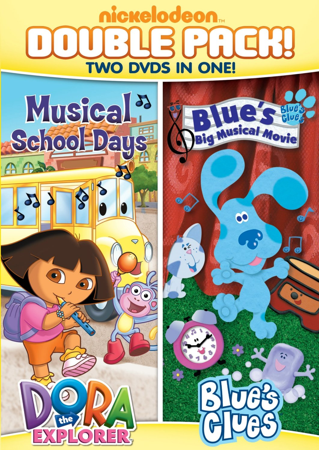 dora and blues clues dvd