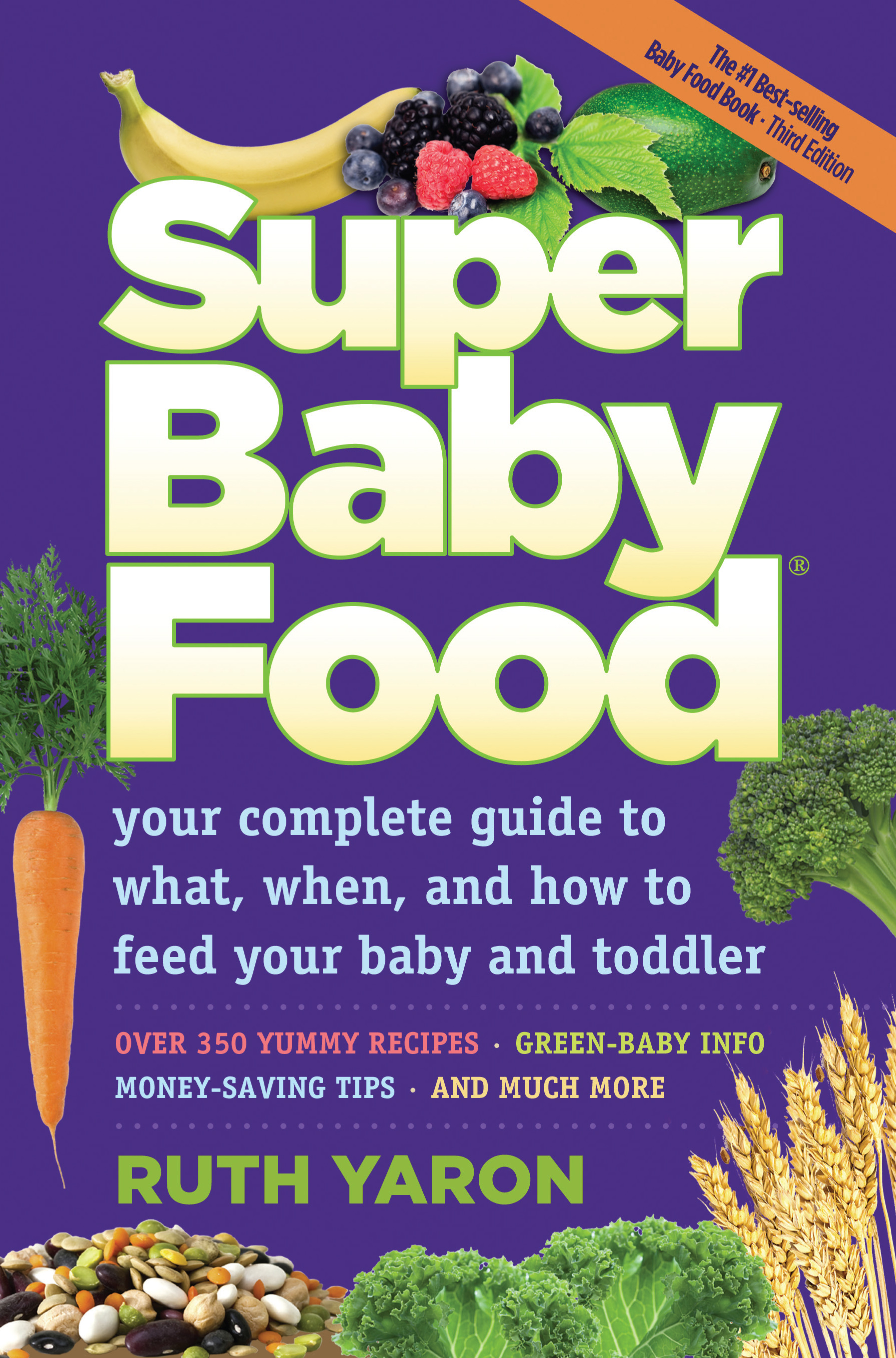 Super Baby Food resource book for feeding and making solids