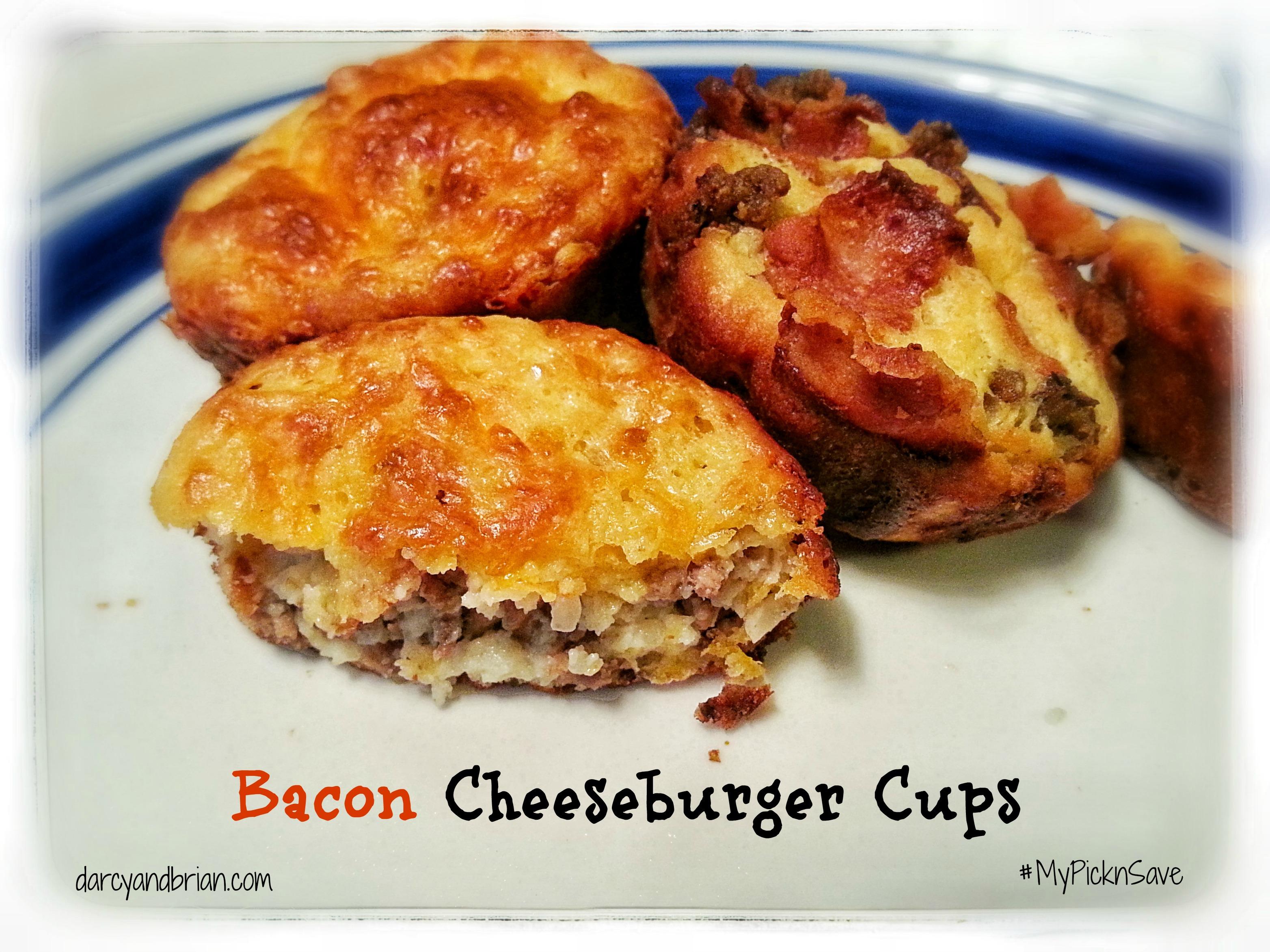 Bacon Cheeseburger Cups