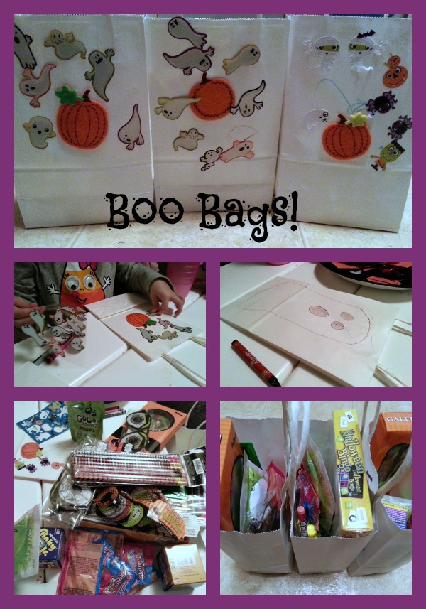 Toddler decorating boo bags #shop