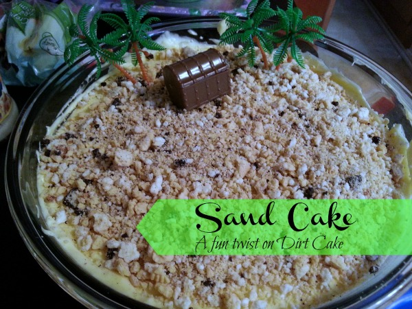 sand pudding cake